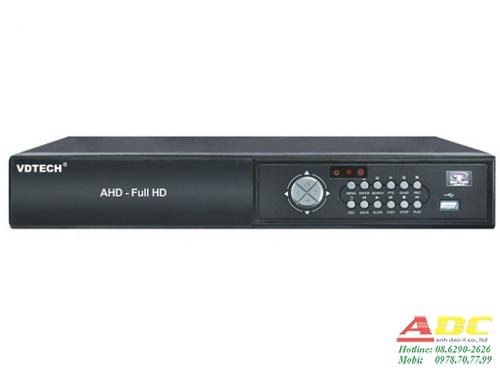 Đầu ghi hình camera IP và AHD 16 kênh VDTECH VDT-4500AHD/1080N.2